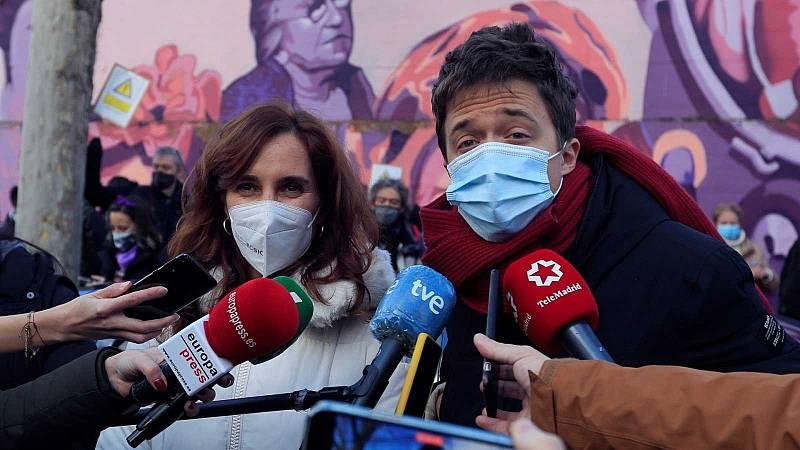 Más Madrid rechaza la propuesta de Iglesias de hacer una lista conjunta para el 4M
