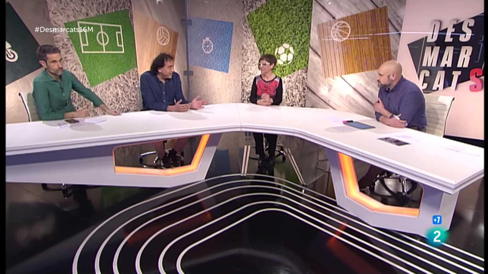 La tertúlia del Desmarcats sobre l'exhibició de Messi el dia que es convertia en el jugador amb més partits al Barça.