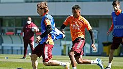 El Madrid recibe al Atalanta con Rodrygo, 'lesionado' durante minutos por un ataque informático