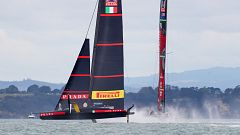 Vela - Copa América 2021: Final 10ª regata (Auckland): Emirates Team New Zealand - Luna Rossa Prada Pirelli