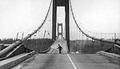 El Condensador de Fluzo - Curiosidades históricas - El Puente de Tacoma Narrows