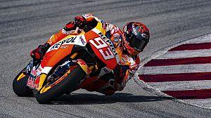 Marc Márquez sigue ultimando su vuelta a la competición encima de la Honda