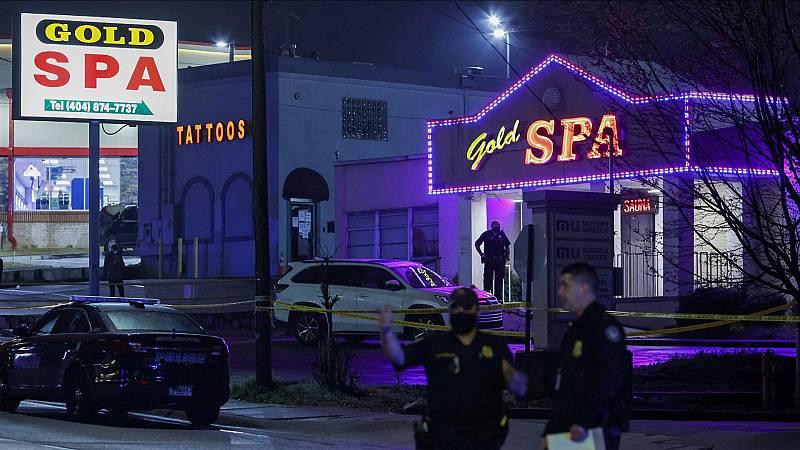 Al menos ocho personas mueren en un tiroteo en tres salones de masaje de Atlanta