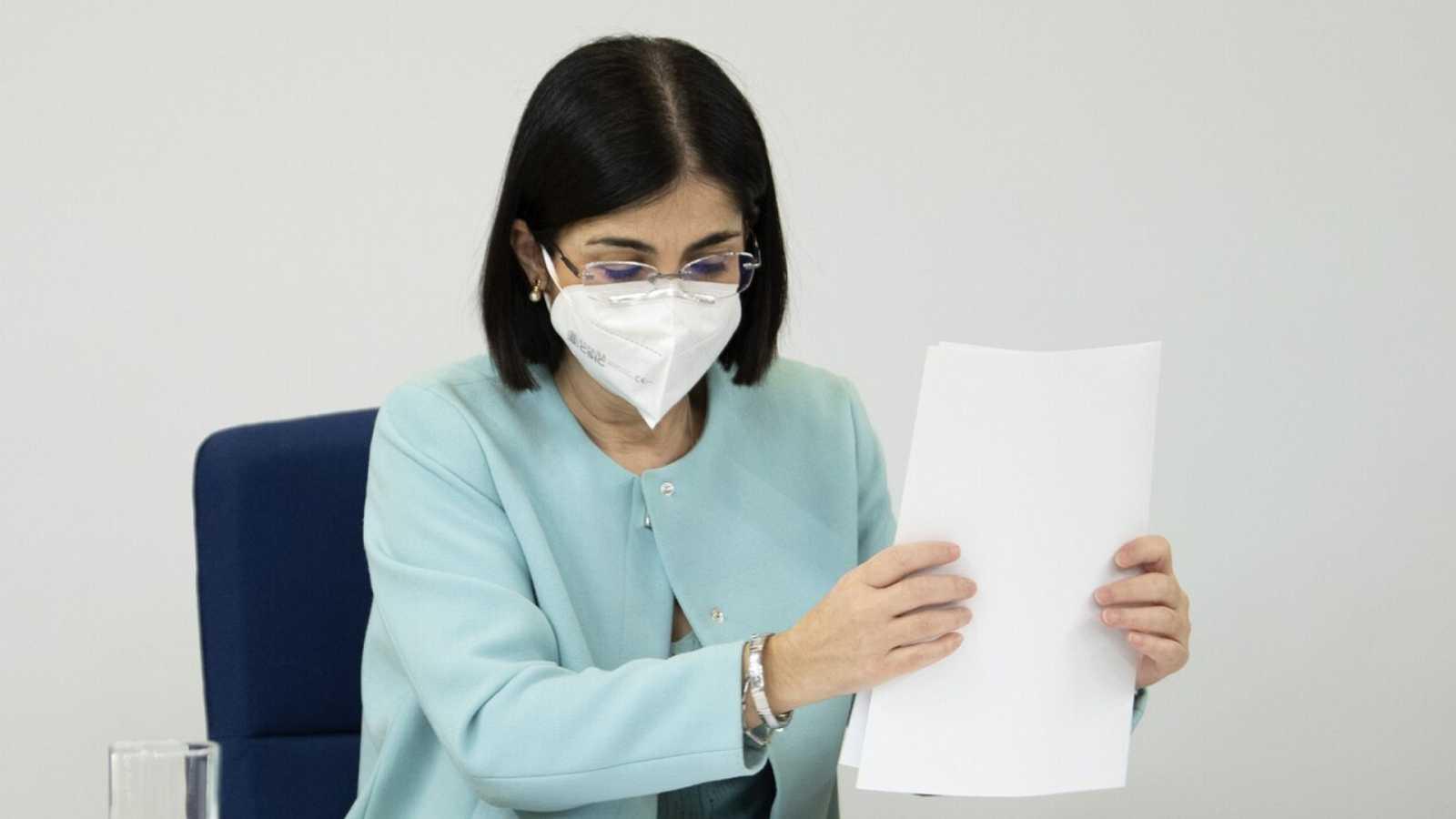 Especial informativo - Comparecencia de la ministra de Sanidad - 17/03/21 - ver ahora