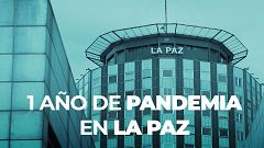 La lucha del Hospital La Paz contra el coronavirus