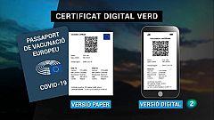 Brusel·les presenta el Certificat Verd Digital sobre la covid-19