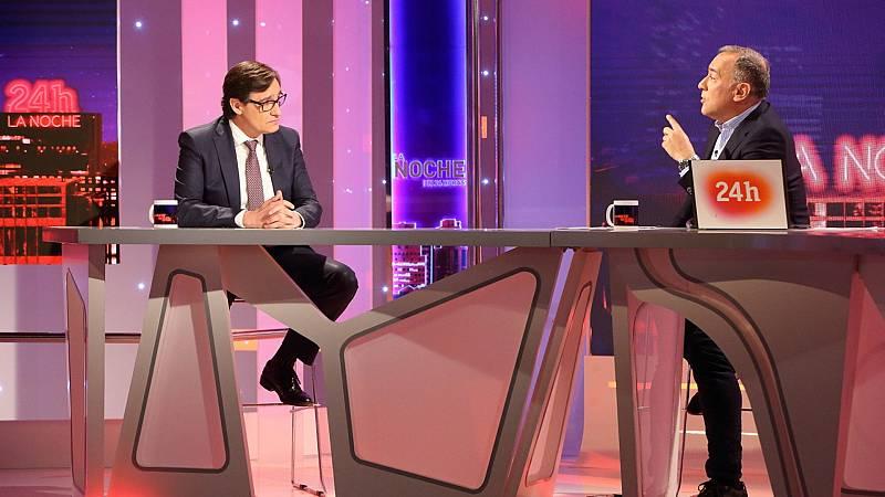 """Illa critica el """"discurso de la polarización"""" de Ayuso y la cuestiona como representante del """"verdadero PP"""""""