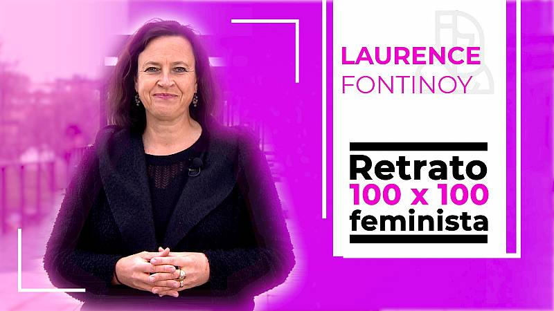 Objetivo Igualdad-Retrato 100x100 feminista: Laurence Fontinoy, emprendedora