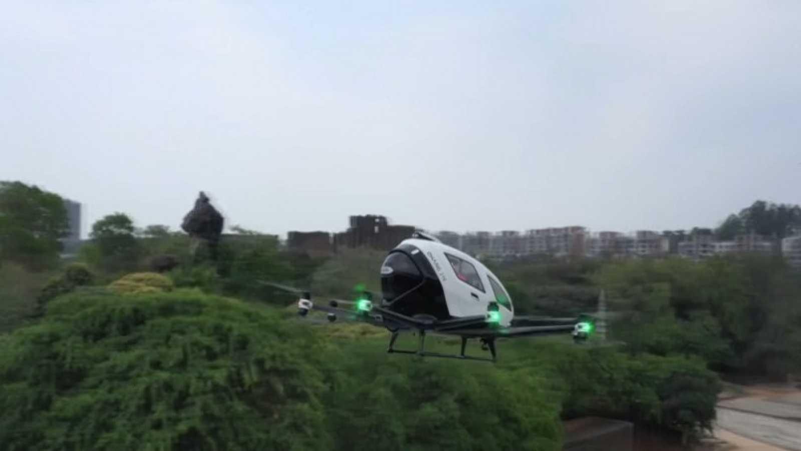 Los taxis voladores en China pueden ser pronto una realidad