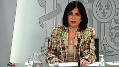 Especial informativo - Comparecencia de la ministra de Sanidad, la directora de la Agencia Española del Medicamento, y el director del Centro de Coordinación de Alertas y Emergencias Sanitarias - 18/03/21