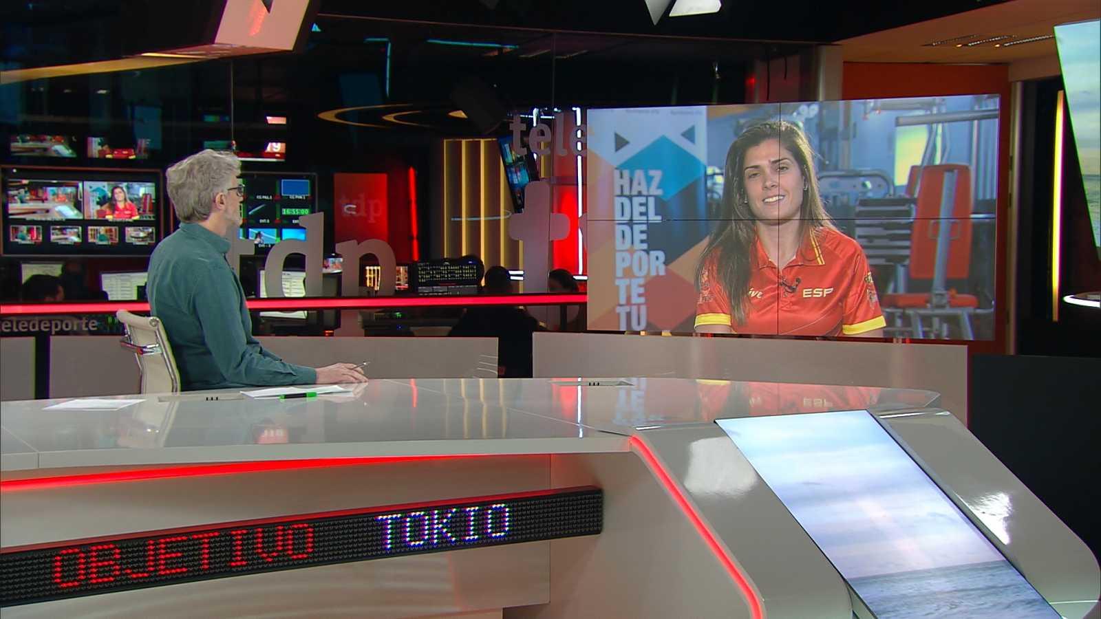 Objetivo Tokio - Programa 144 Paralímpicos: Miriam Martínez, lanzadora de peso - ver ahora