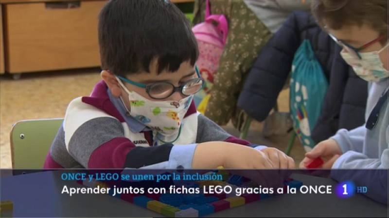 ONCE y LEGO se unen por la inclusión - 19/03/2021