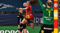 Balonmano - Preolímpico femenino: España - Suecia