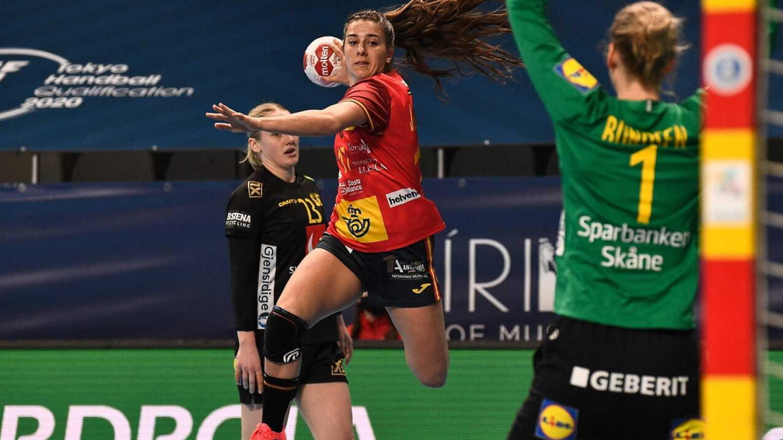 Balonmano - Preolímpico femenino: España - Suecia - ver ahora