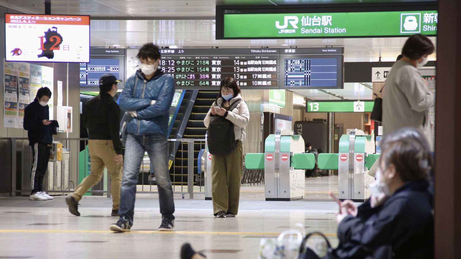 Un terremoto de magnitud 7,2 sacude el noreste de Japón