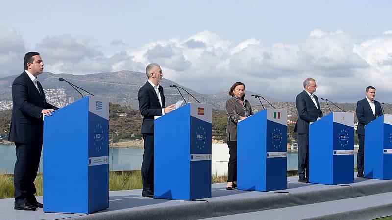El ministro del Interior, Fernando Grande-Marlaska, pide a la UE solidaridad ante la inmigración ilegal