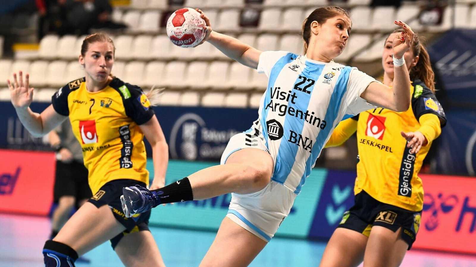 Balonmano - Preolímpico femenino: Argentina - Suecia - ver ahora