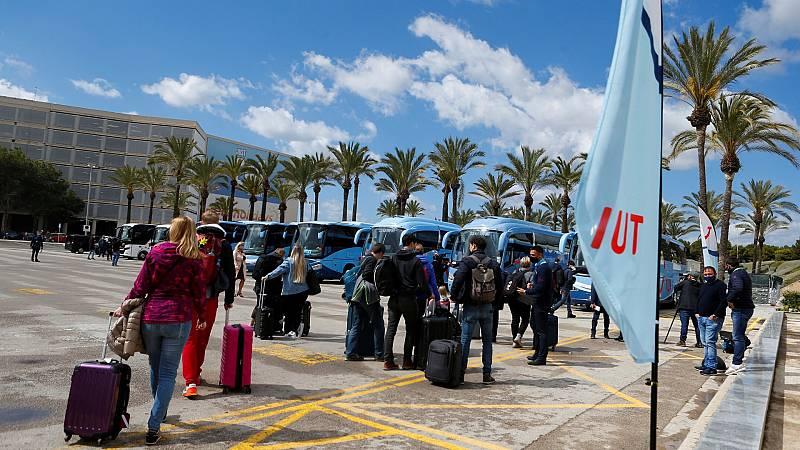 Mallorca vuelve a recibir turistas alemanes