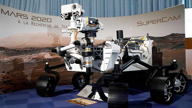 Se cumple un mes de la llegada del Perseverance a Marte