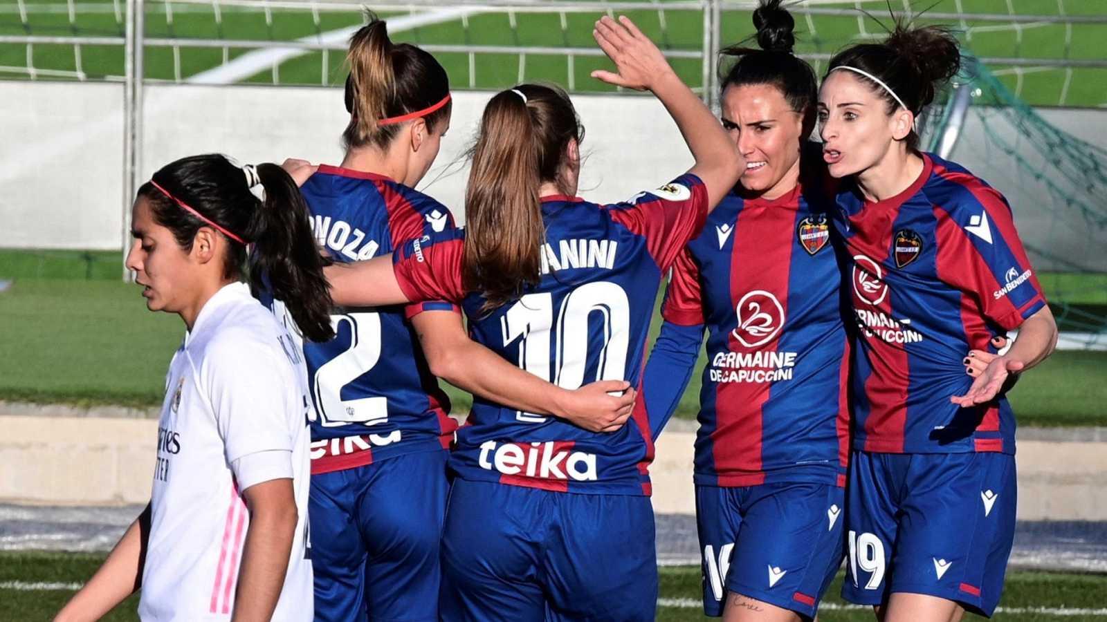 El Levante gana en Valdebebas y da un golpe importante en la lucha por la segunda posición