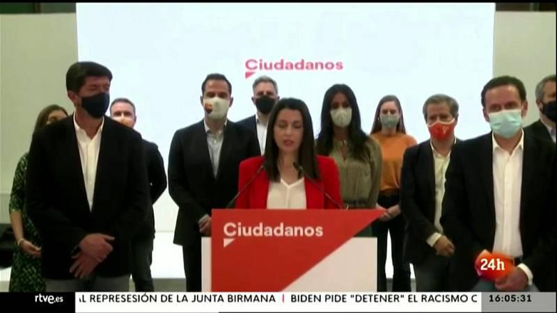 Parlamento - El foco parlamentario -Crisis en Ciudadanos - 20/03/2021