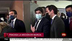 Parlamento - Otros parlamentos - Fracasa la moción de censura en Murcia - 20/03/2021