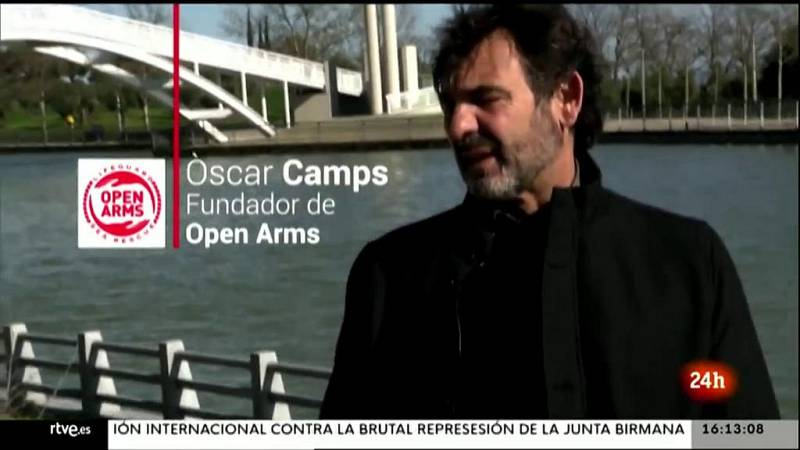 Parlamento - La entrevista - Óscar Camps, fundador de la ONG Open Arms - 20/03/2021