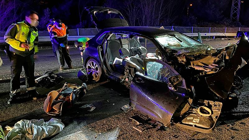 Fallecieron 12 personas en 11 accidentes de tráfico este fin de semana en España