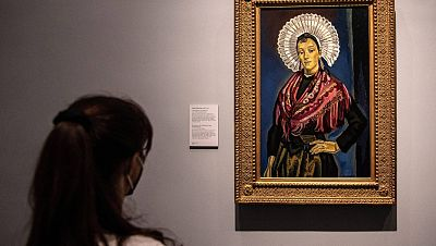 'La boulonnaise', de María Blanchard, es la estrella del legado de Carmen Sánchez que puede verse en el Prado