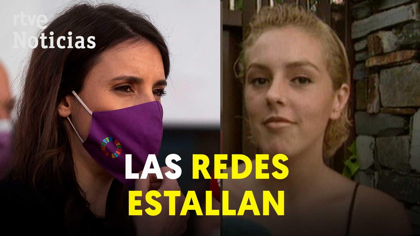 """Irene Montero: """"Rocío Carrasco es víctima de violencia de género. Es importante el apoyo"""""""