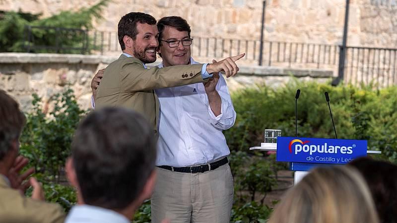 """Casado, tras el fracaso de la moción de censura del PSOE: """"Hoy ha ganado Castilla y León y ha perdido Pedro Sánchez"""""""