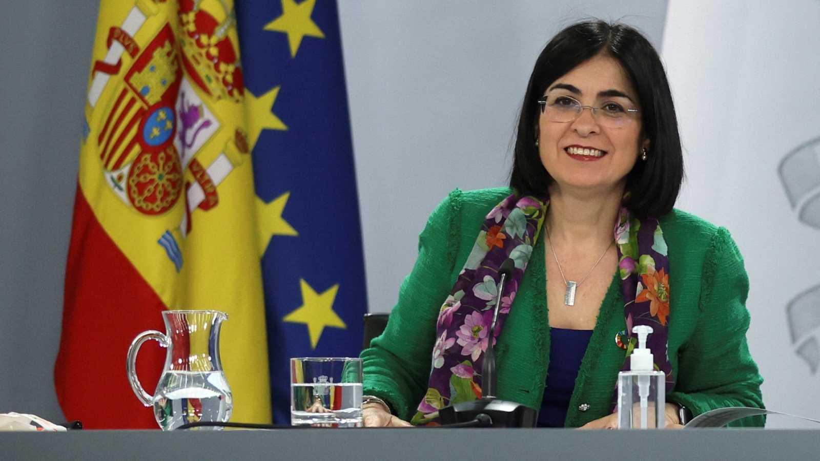 Especial informativo - Comparecencia de la ministra de Sanidad- 22/03/21 - ver ahora