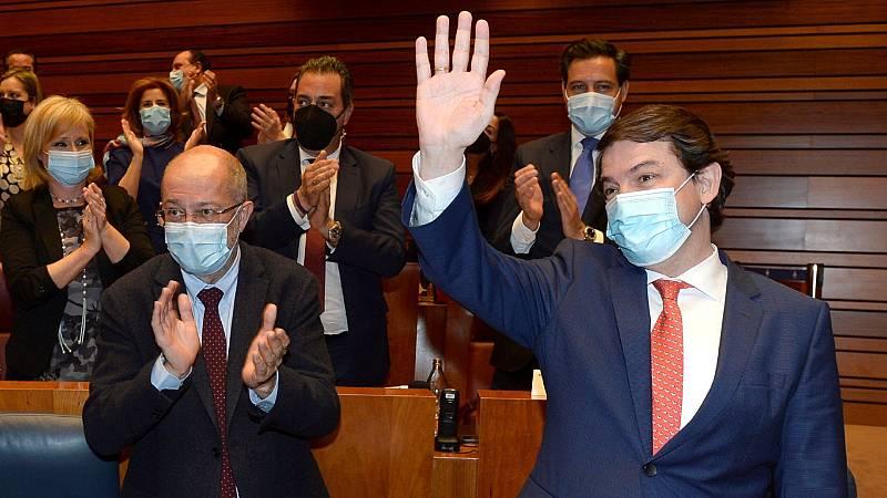 PP y Ciudadanos retienen el poder en Castilla y León tras fracasar la moción de censura presentada por el PSOE
