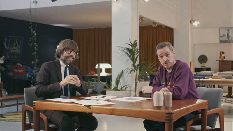 Entrevista d'Òscar Dalmau a Jordi Labanda al vuitè capítol d''Helvètica'