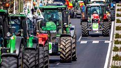 Tractorada en Toledo para pedir ayudas a las zonas más afectadas del campo