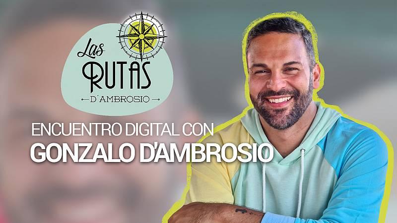 """Encuentro digital con Gozalo d'Ambrosio: """"Las cosas más lindas de la vida suceden en la cocina"""""""