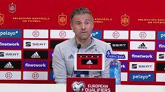 Fútbol - Rueda de prensa Luis Enrique. Clasificación Campeonato del Mundo 2022