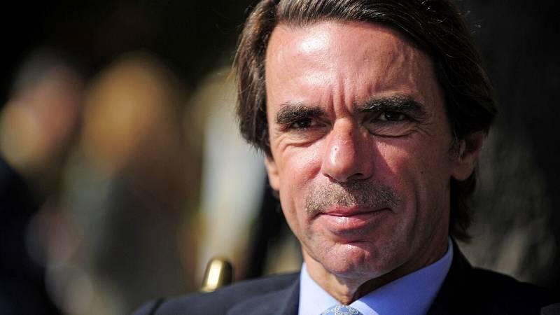 """Aznar declara como testigo en el juicio por la 'caja B' del PP: """"Nunca jamás he recibido ningún sobresueldo"""""""