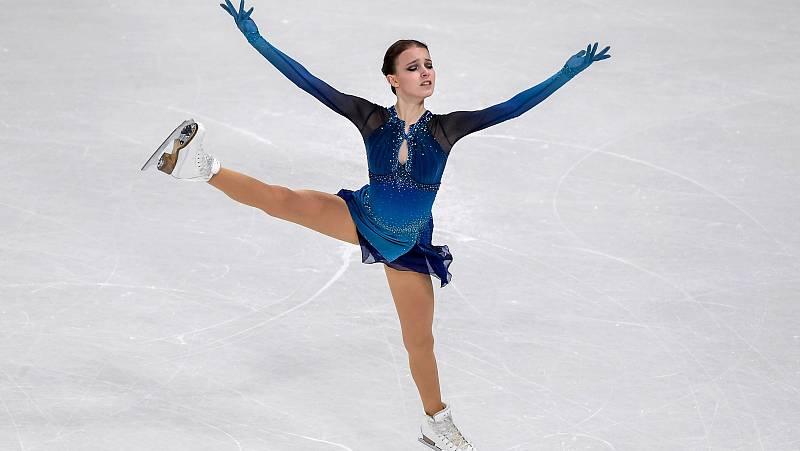 La rusa Anna Shcherbakova se hace con la mejor puntuación en el programa corto