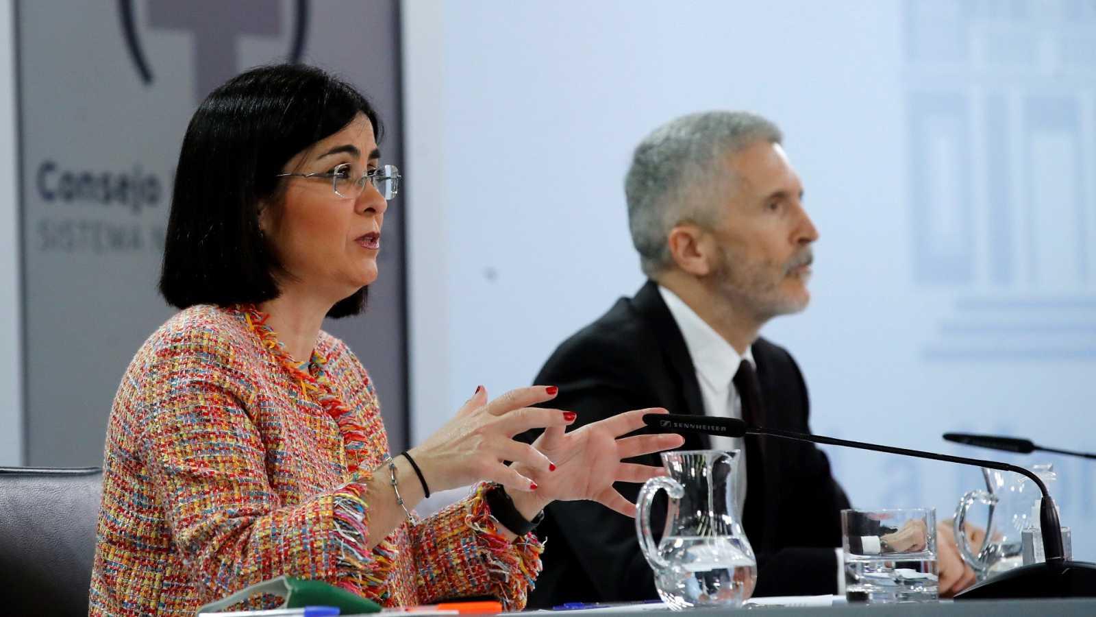 Especial informativo - Comparecencia de la ministra de Sanidad y del ministro del Interior - 24/03/21 - ver ahora