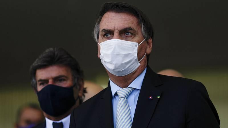 El estado crítico en Brasil por la pandemia obliga a Bolsonaro a cambiar su discurso y pedir un pacto nacional