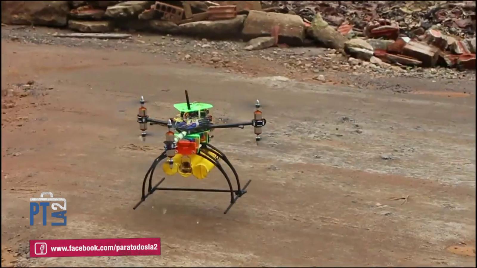 Dronecoria. Drones para reforestar bosques