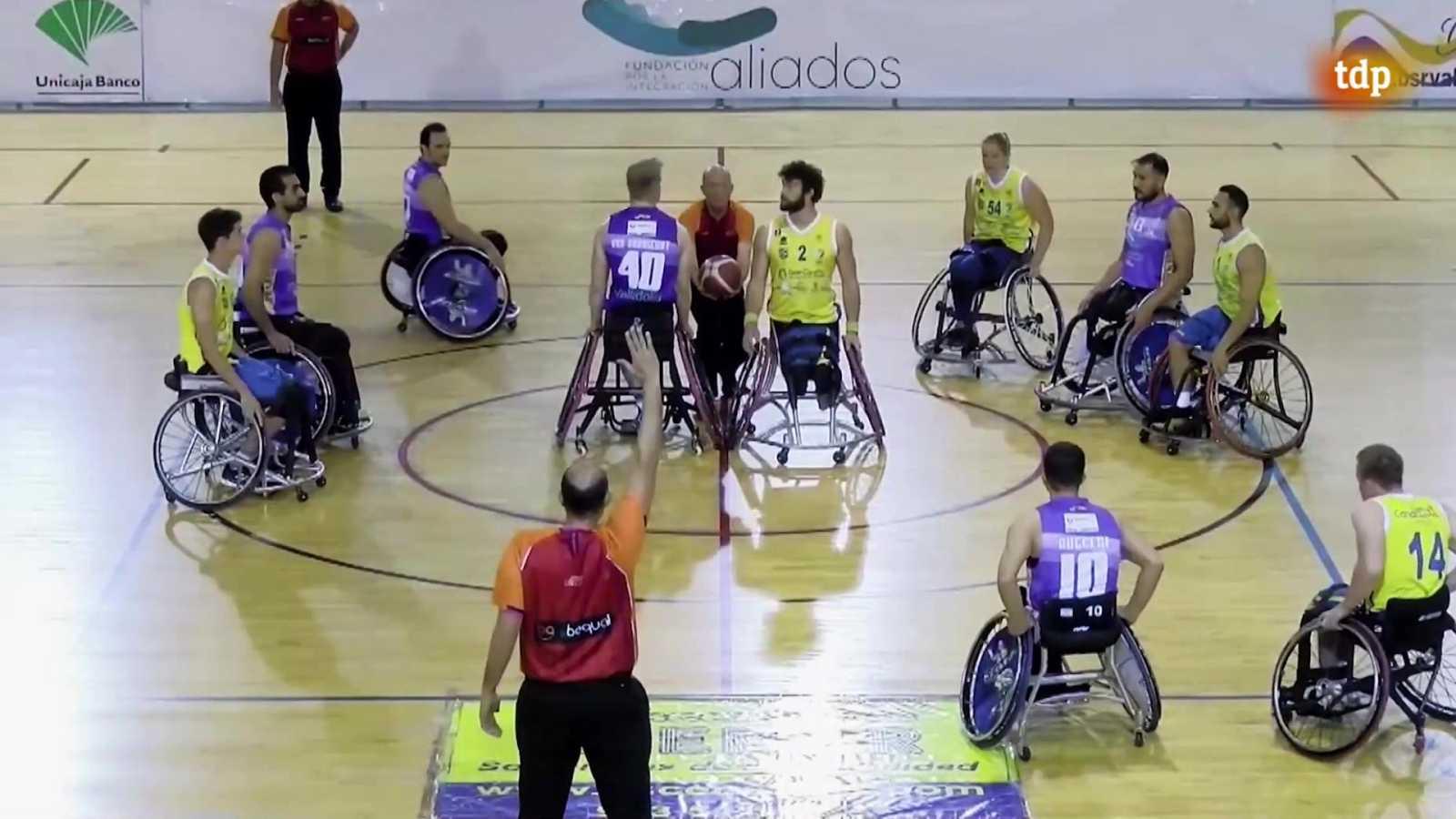 Baloncesto en silla de ruedas - Liga BSR División honor. Resumen jornada 16 - ver ahora