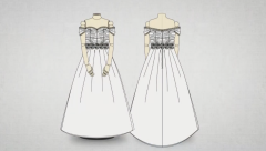 Así se cose el vestido de novia de Lorenzo Caprile