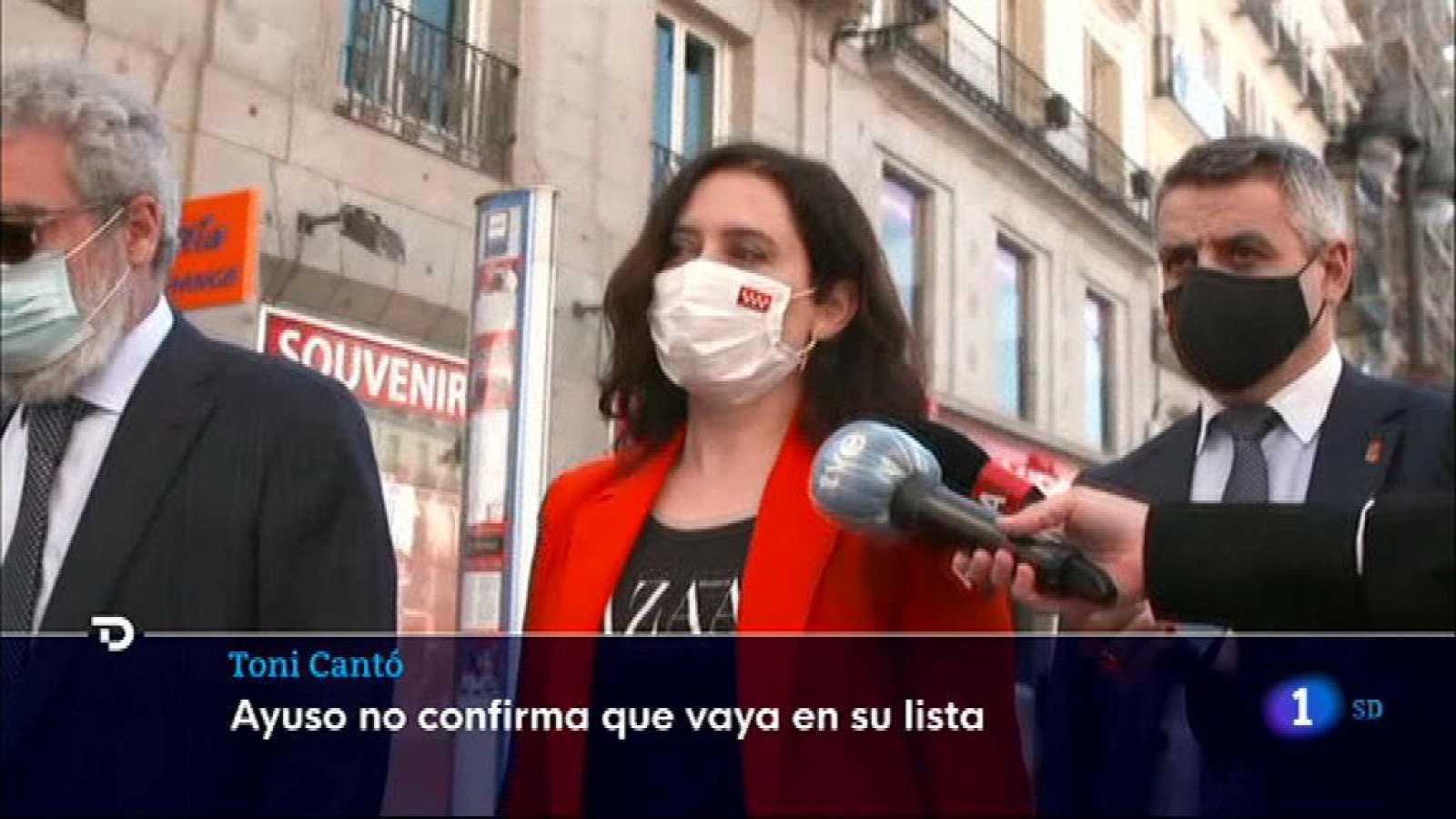 Informativo de Madrid 2 ¿ 25/03/2021- Ver ahora