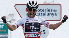 Así fue la llegada de la etapa 4 de la Volta a Catalunya