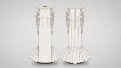 Aprende a confeccionar el vestido de novia de María Escoté