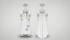 Confecciona el vestido de novia de Palomo