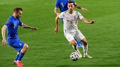 Fútbol - Clasificación Mundial 2022. Partido España - Grecia