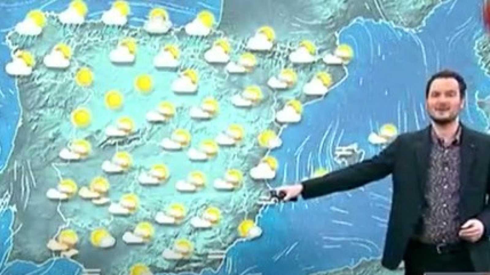 La Aemet prevé cielo nuboso y precipitaciones en el extremo norte peninsular